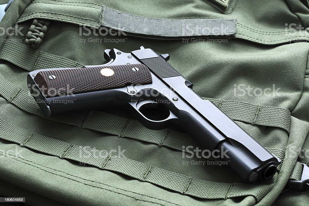 M1911 Mark IV Series 80 pistol royalty-free stock photo