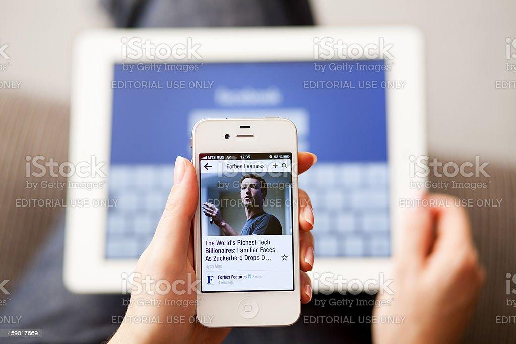 Mark Zuckerberg royalty-free stock photo
