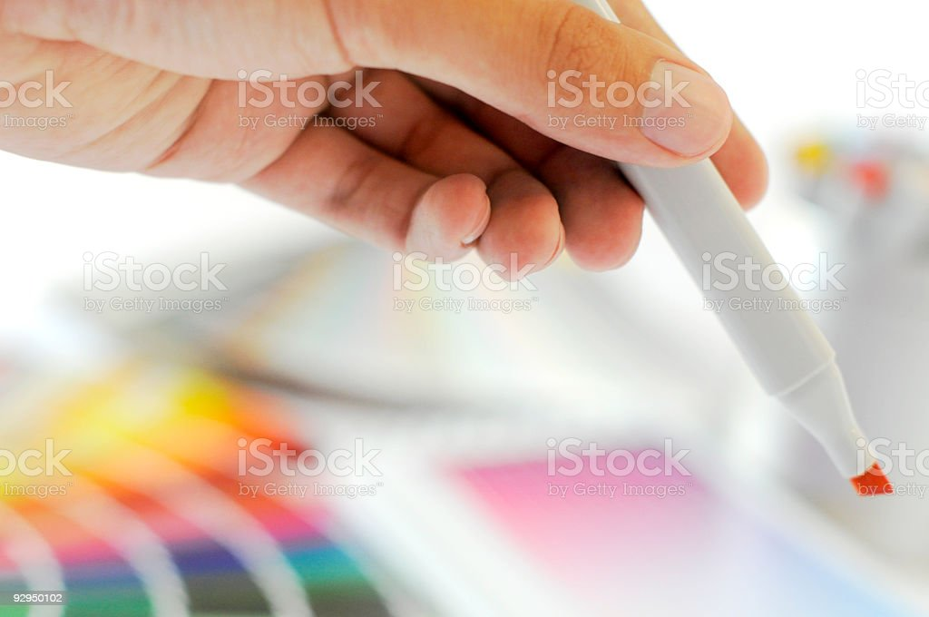 marker royalty-free stock photo