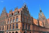 Market church and old town hall in Hanover, Germany