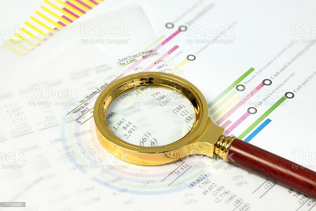 Market Data royalty-free stock photo