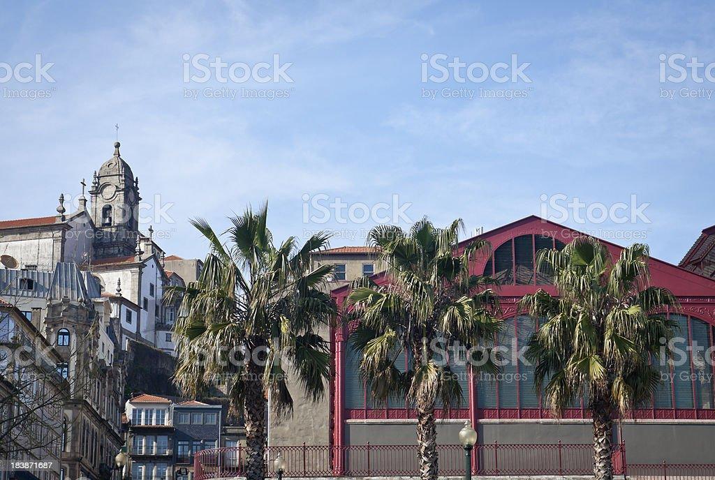 Market Ferreira Borges stock photo