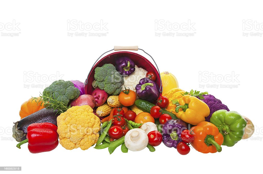 Market Fresh Vegetables royalty-free stock photo