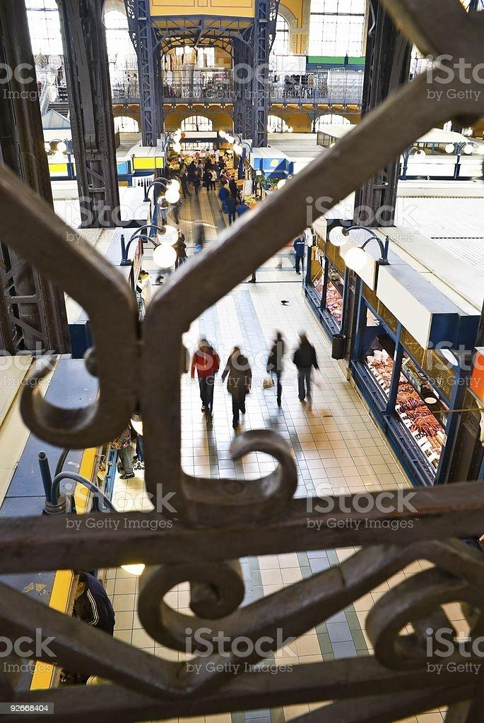 Market Hall royalty-free stock photo