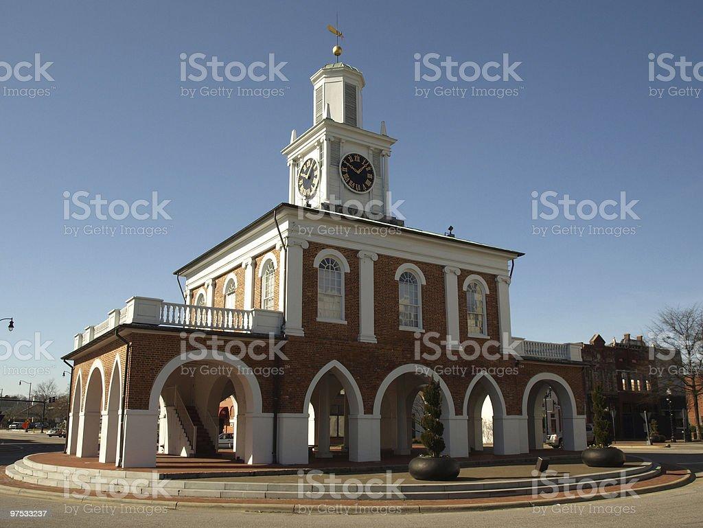 Market house stock photo