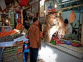 Market in Fez, Morocco