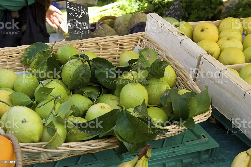 Market in Nice royalty-free stock photo