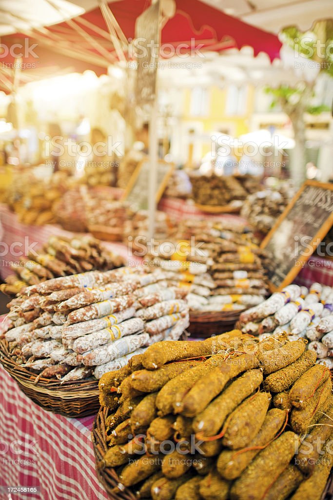 Market in Provence royalty-free stock photo