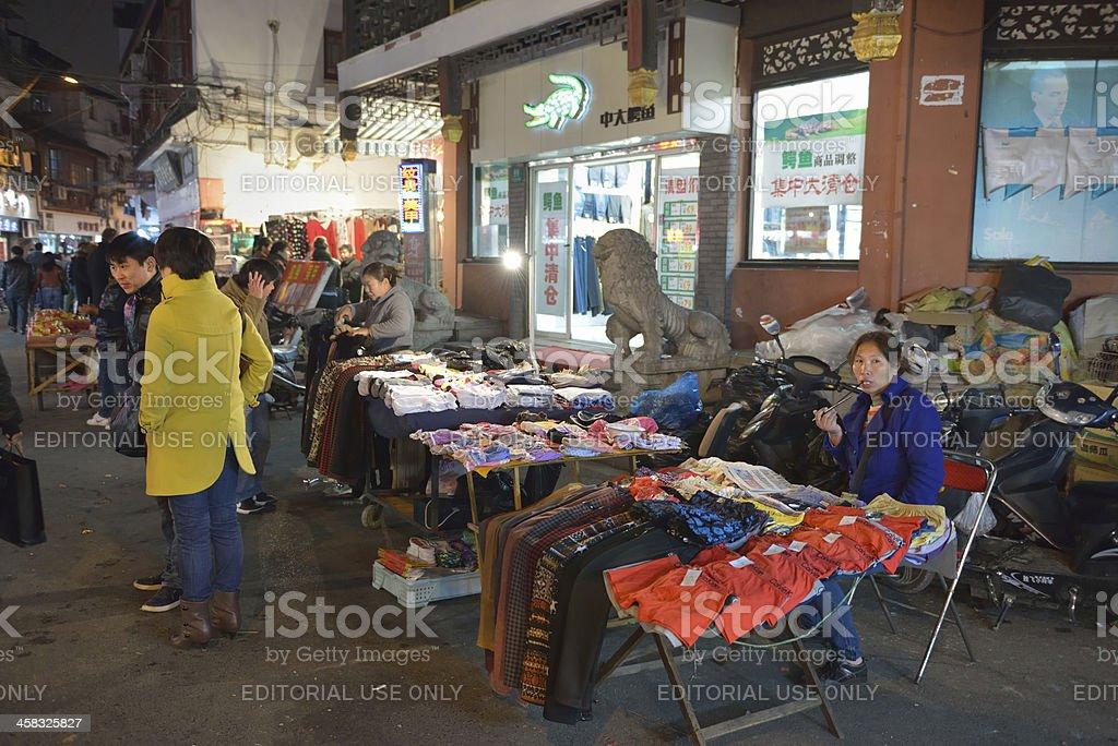 Market in Shanghai stock photo