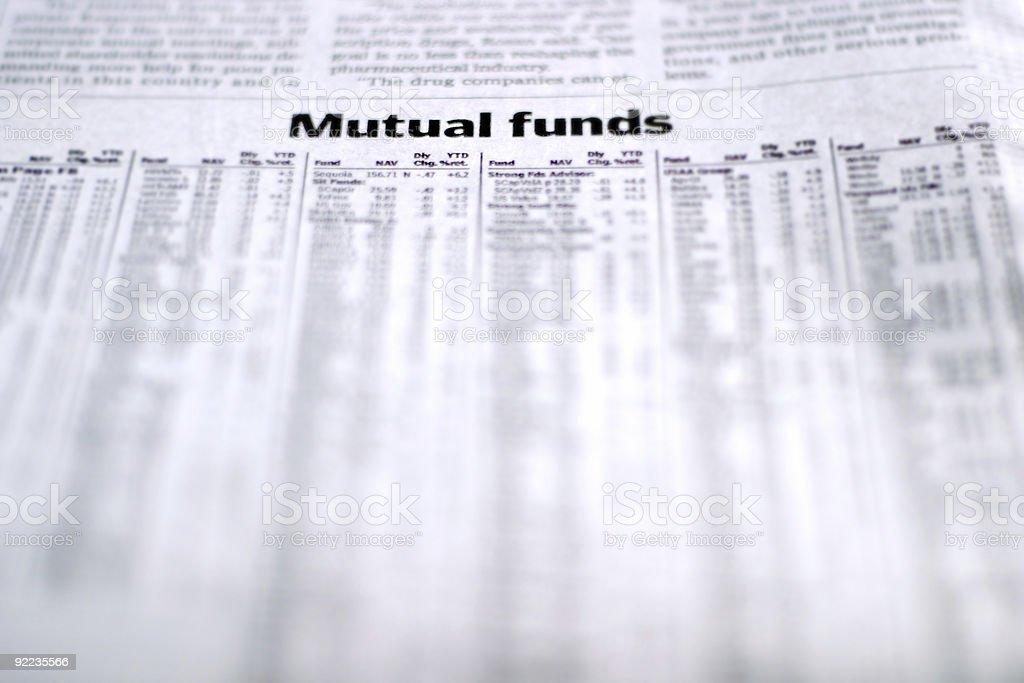 Market Report stock photo