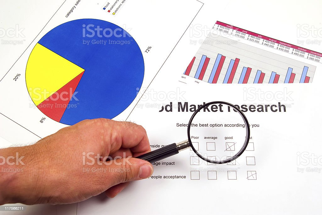 market research form royalty-free stock photo
