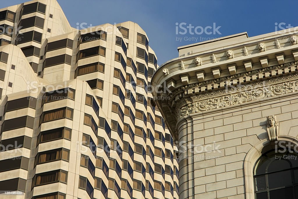 Market Street in San Francisco, California royalty-free stock photo