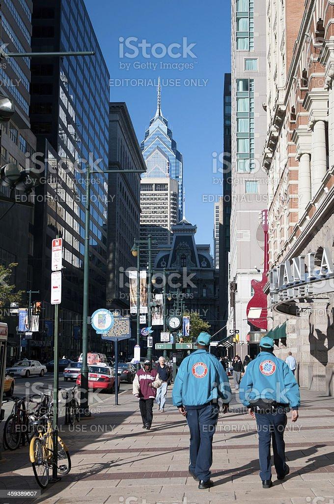 Market Street, Philadelphia, USA stock photo