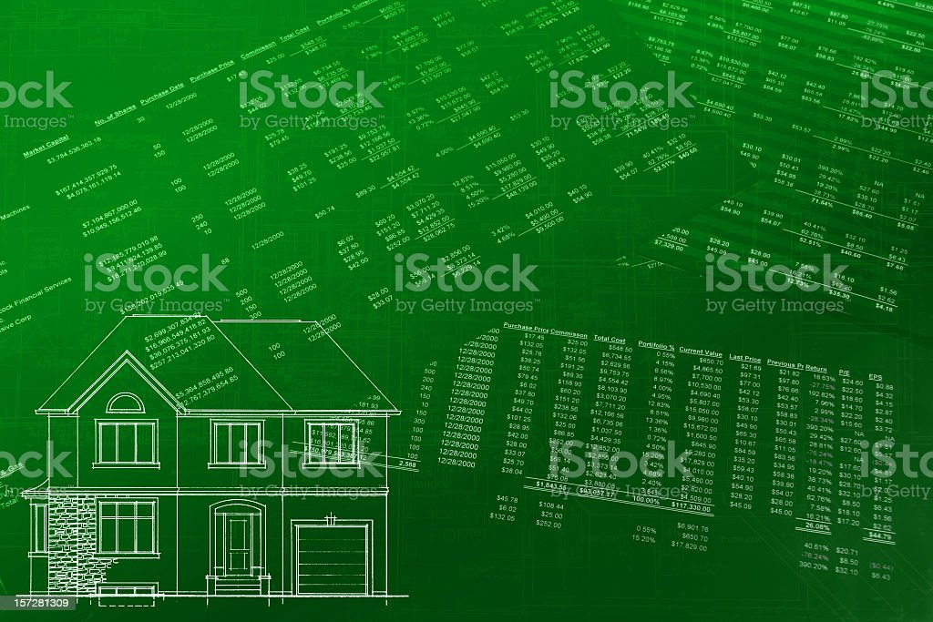 Market Value - Renovation Cost Analysis royalty-free stock photo