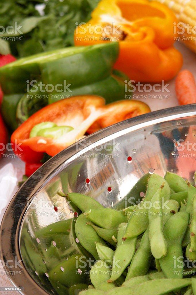 market veggies royalty-free stock photo