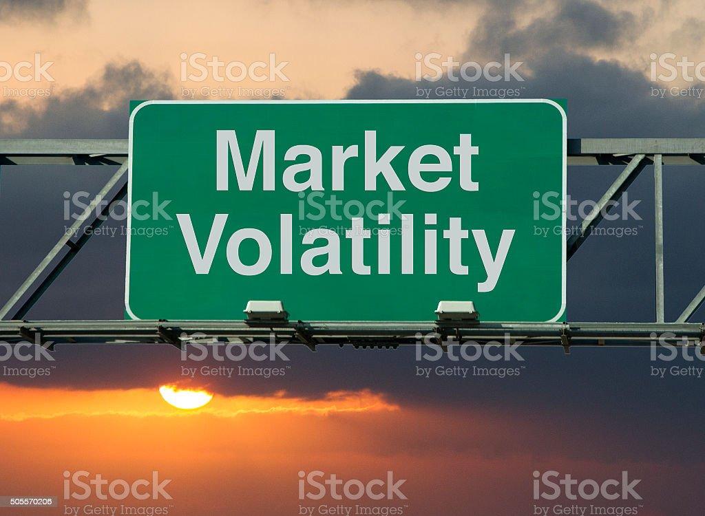 Market Volatility stock photo
