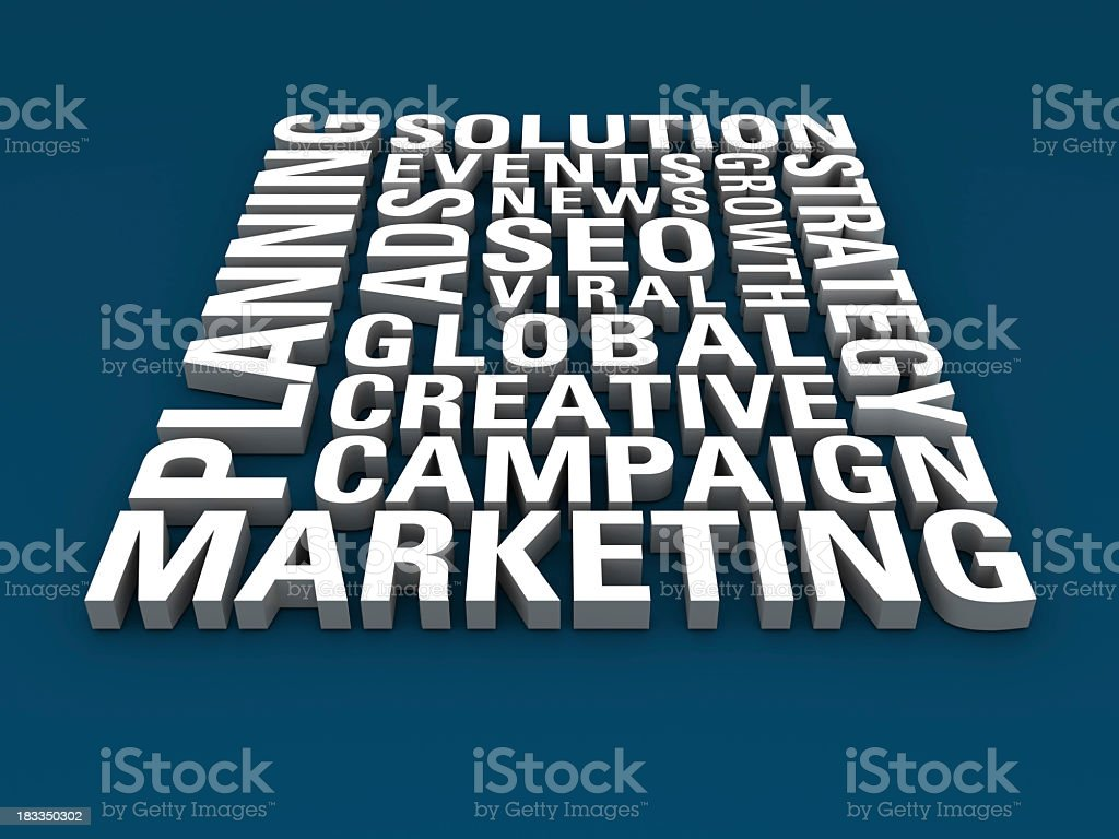 Marketing Concepts royalty-free stock photo