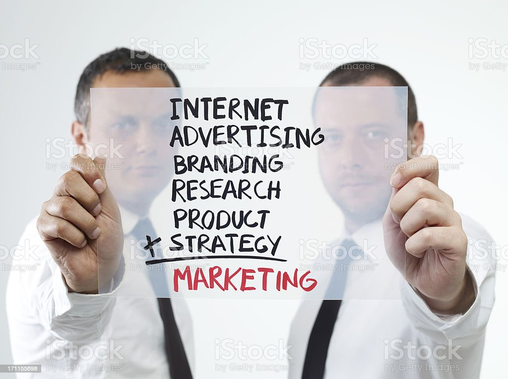 Marketing Formula royalty-free stock photo