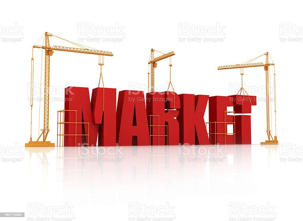 Marketing Growth royalty-free stock photo
