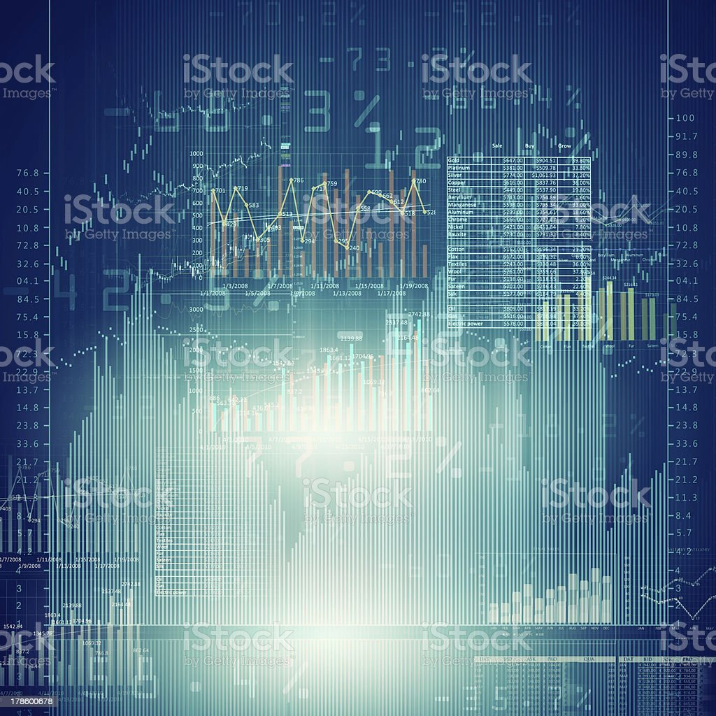 Marketing high tech background stock photo