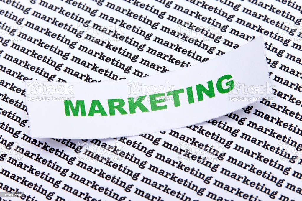 marketing royalty-free stock photo