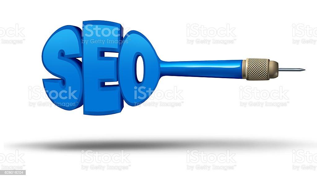 SEO Marketing stock photo
