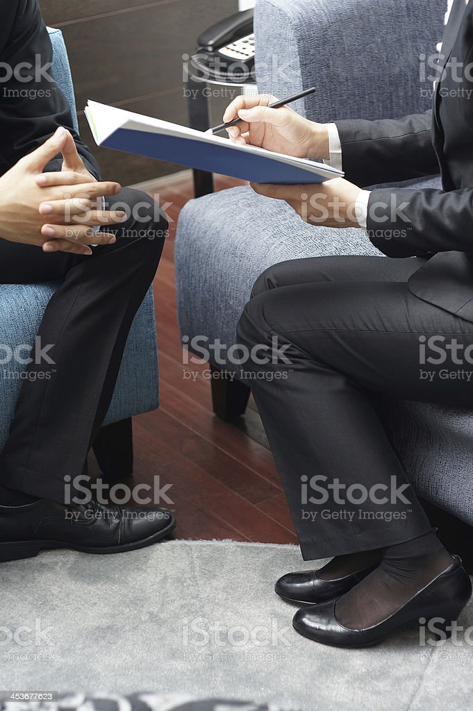 Marketing Presentation royalty-free stock photo