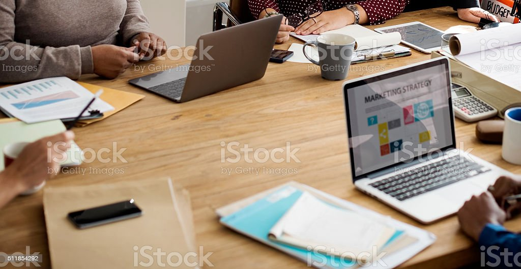 Marketing Strategy Planning Strategy Concept stock photo