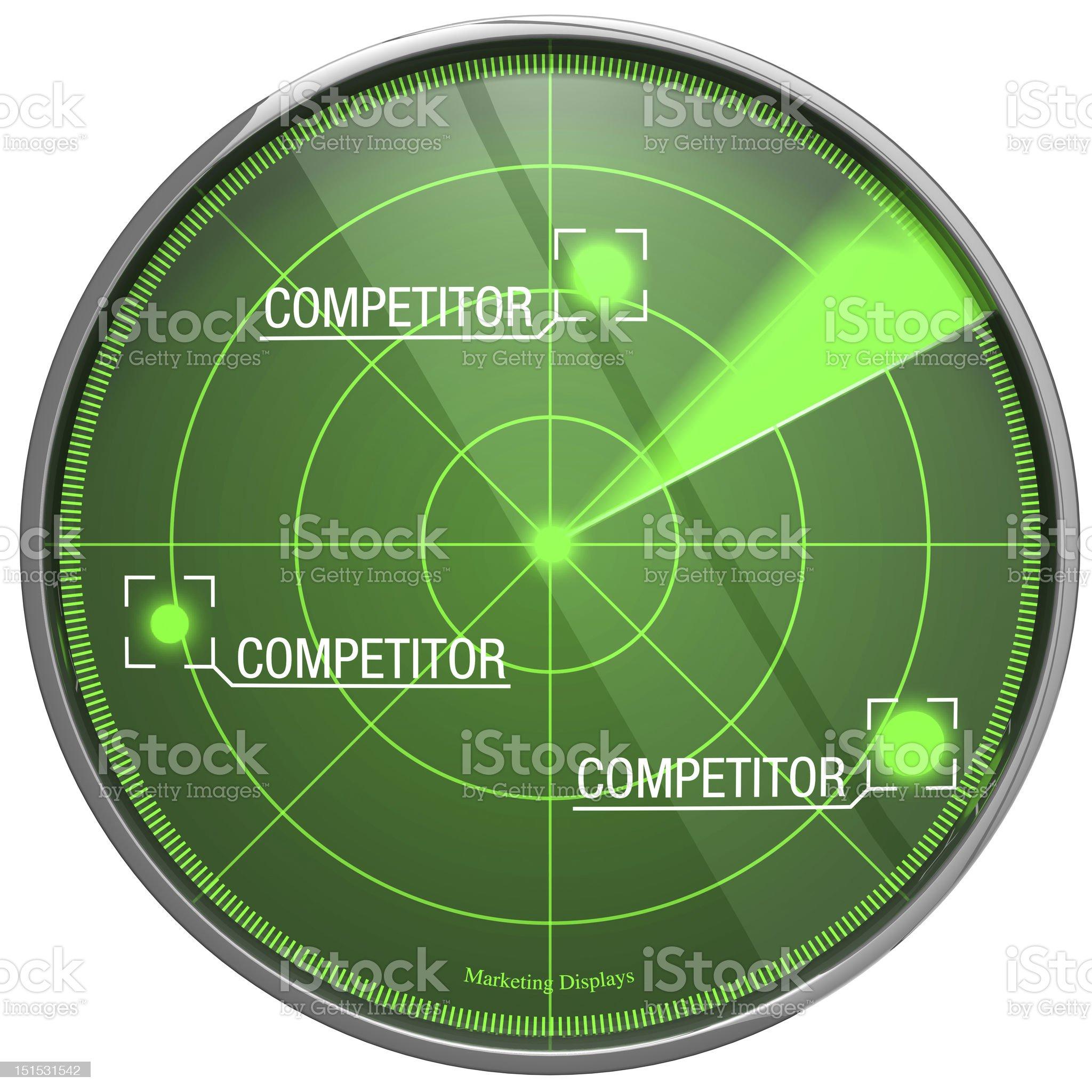 Marketing-Radar2 royalty-free stock photo