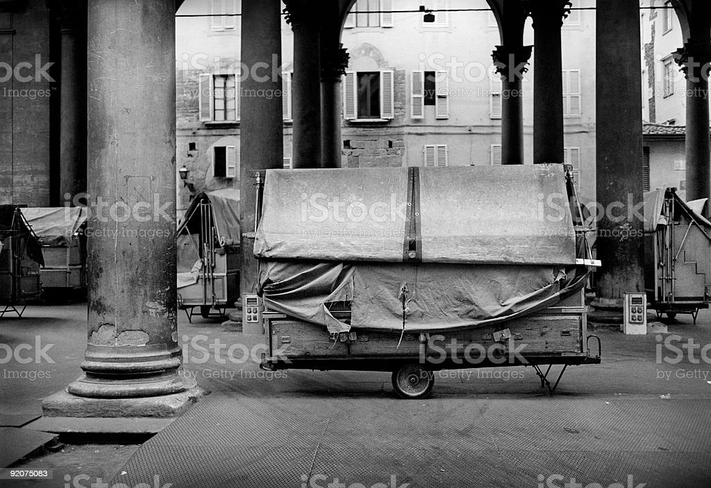 Marketplace Il Porcellino in Florence, Italy royalty-free stock photo