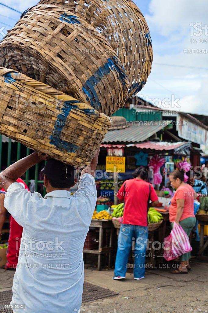 Marketplace stock photo