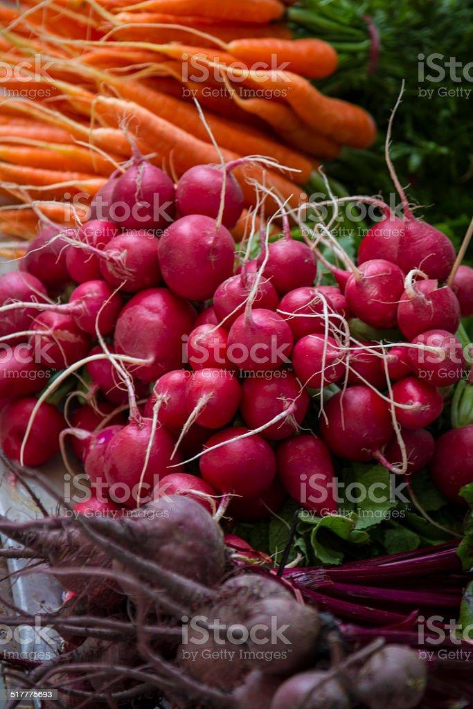 Markets. stock photo