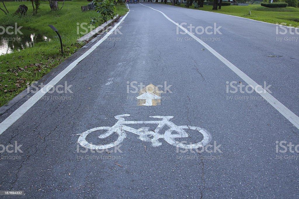 marking ride bike stock photo