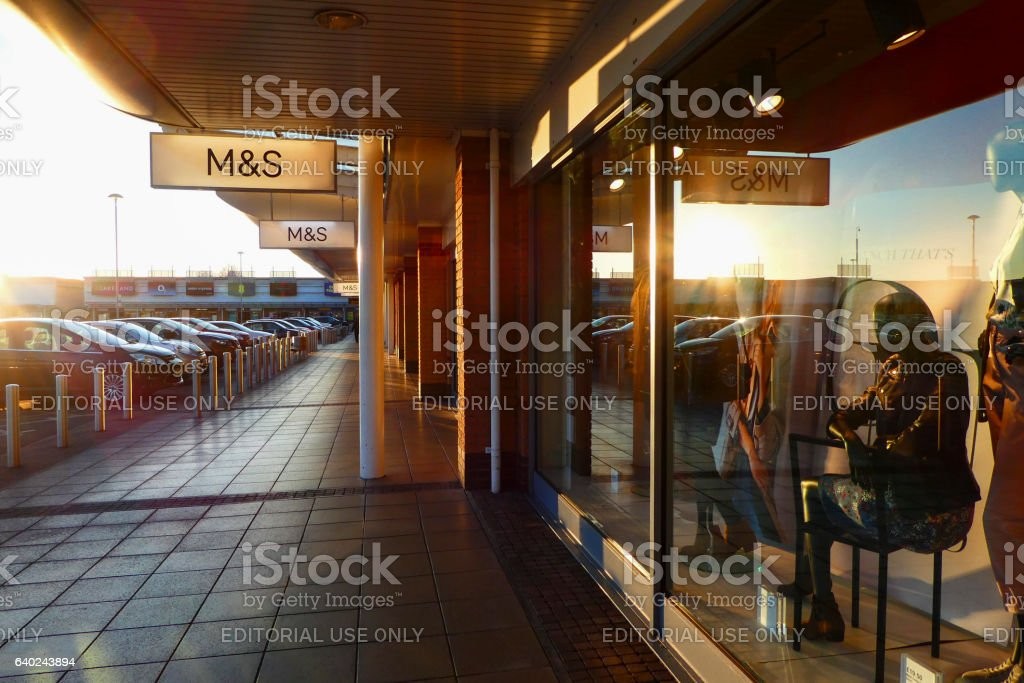 Marks and Spencer stock photo