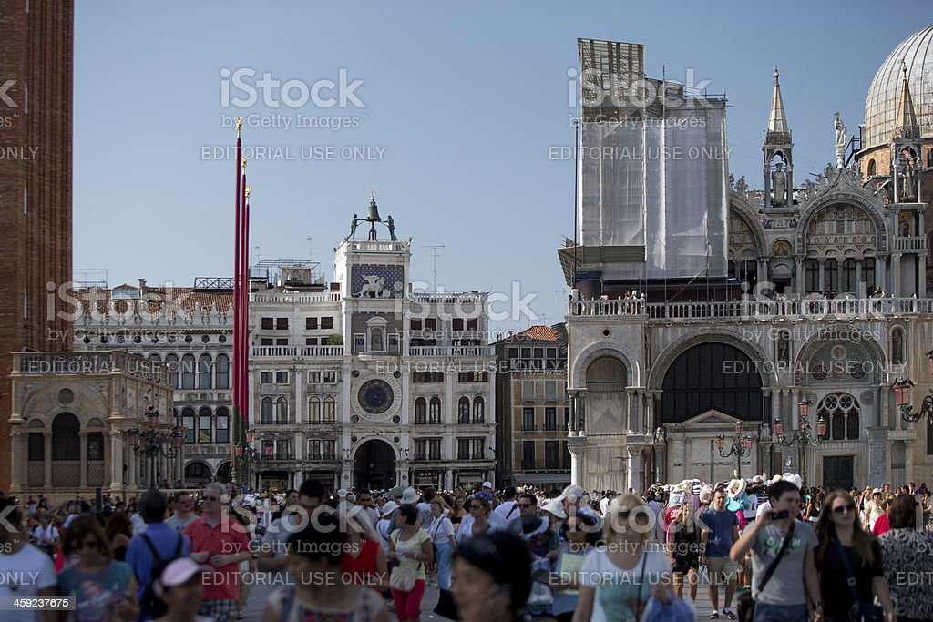 Marks Square royalty-free stock photo