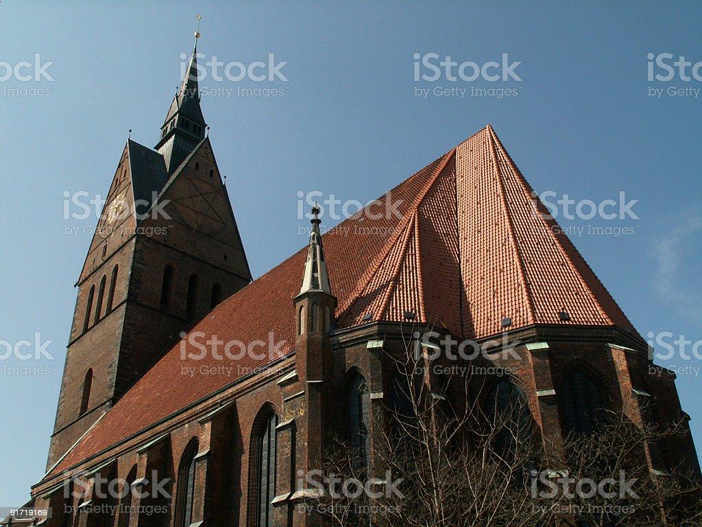Marktkirche Hannover stock photo