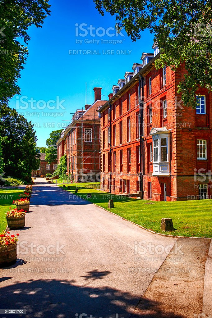Marlborough College campus, UK stock photo