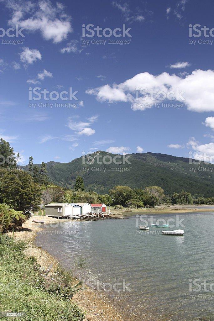Marlborough, New Zealand royalty-free stock photo