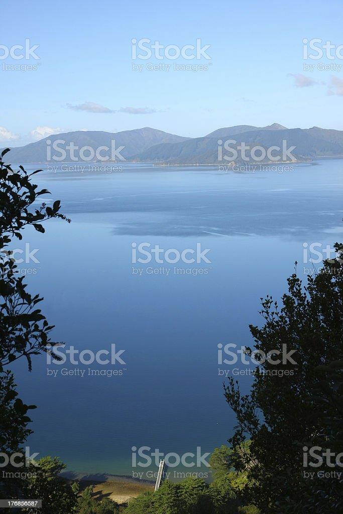 Marlborough Sound stock photo