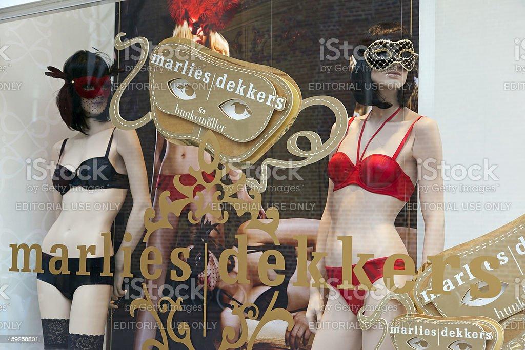 Marlies Dekkers lingerie stock photo