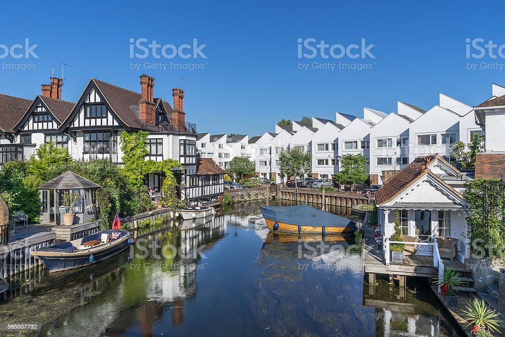 Marlow Lock stock photo