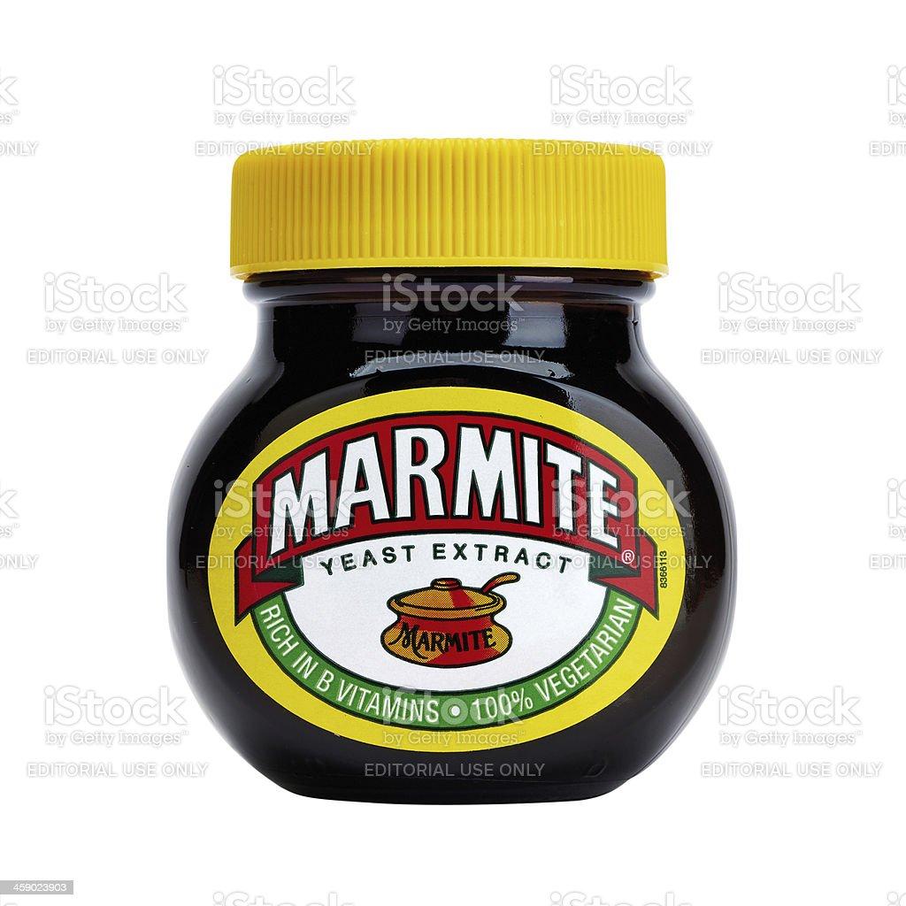 Marmite packshot stock photo