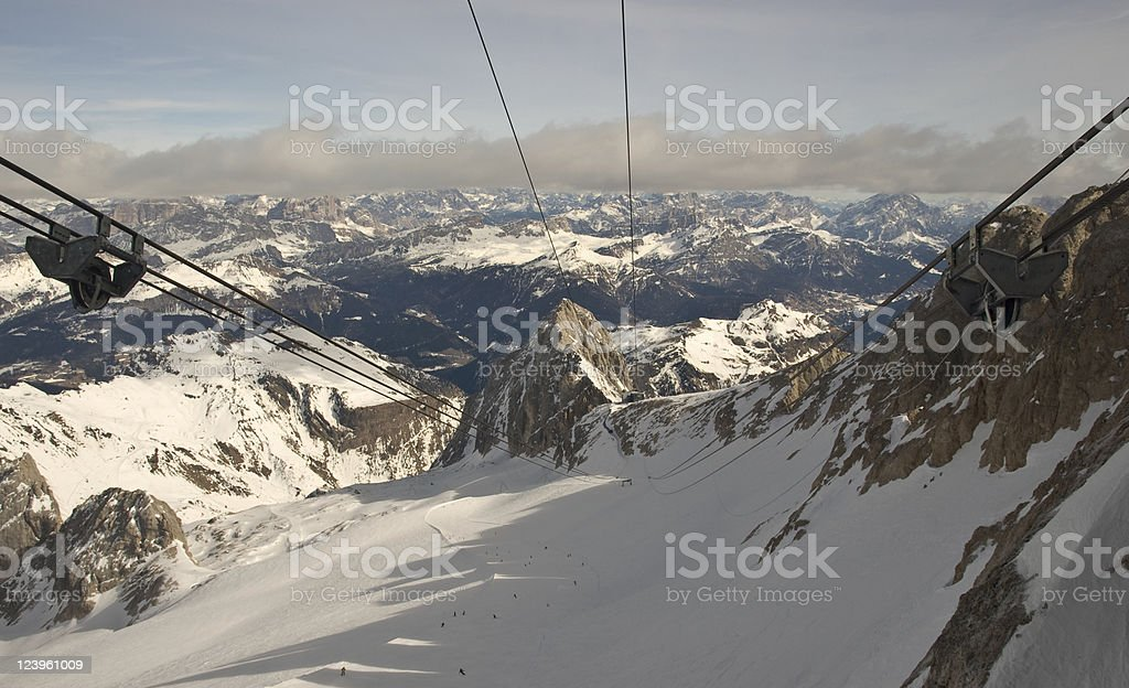 Marmolada stock photo