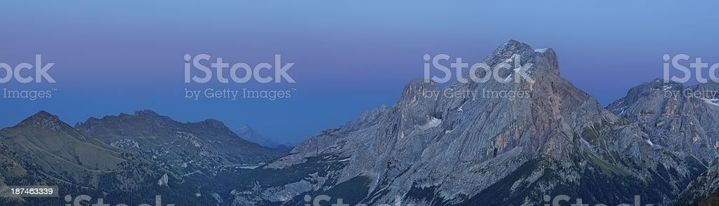 Marmolada (Dolomites - Italy) royalty-free stock photo