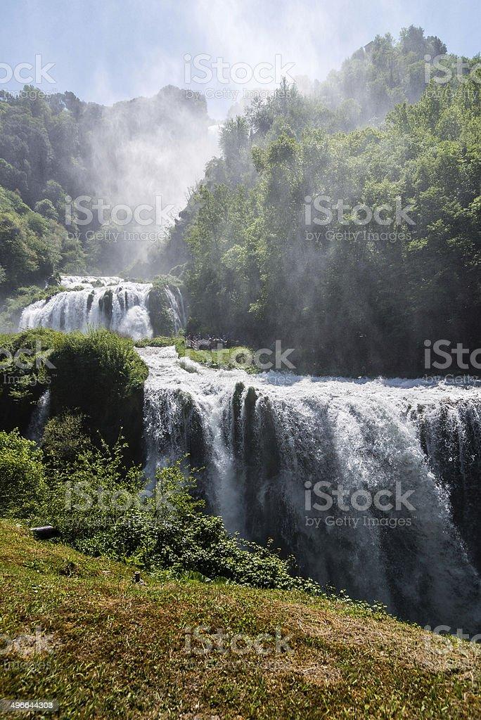 Marmore Falls stock photo