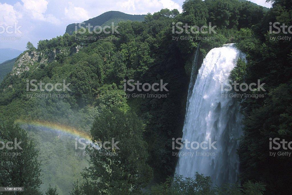Marmore Waterfall stock photo