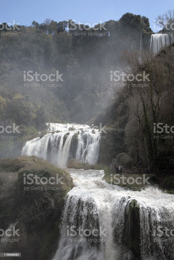 Marmore waterFall stock photo