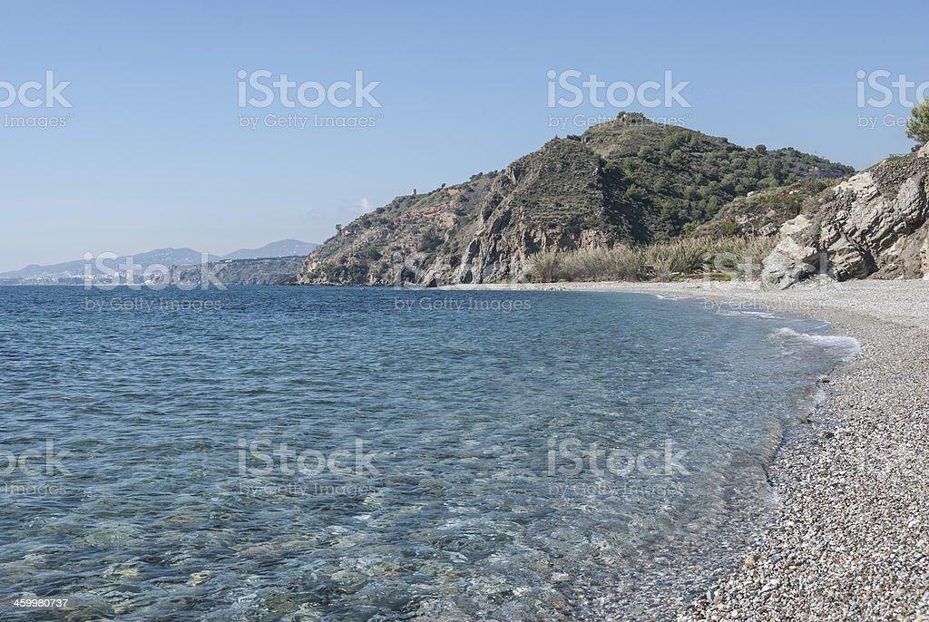 Maro Beach stock photo