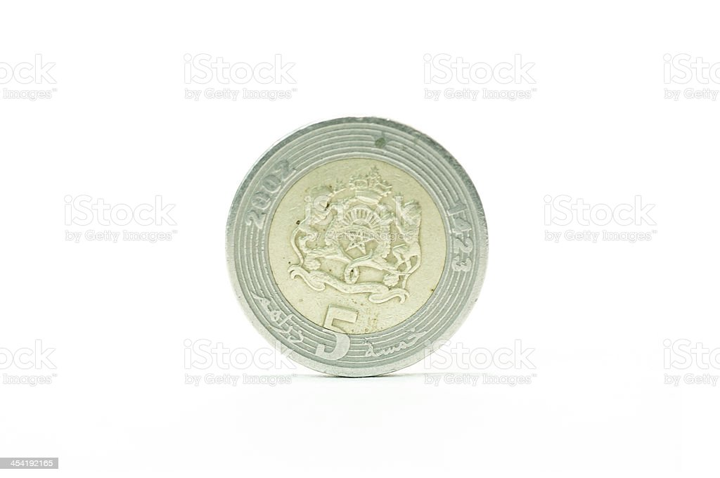 Maroccan Dirham royalty-free stock photo