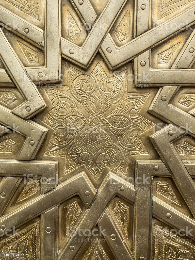 Marocco Ornament stock photo